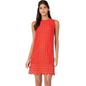 Kate Spade Sand Dune Lace Zinnia Red Dress 14